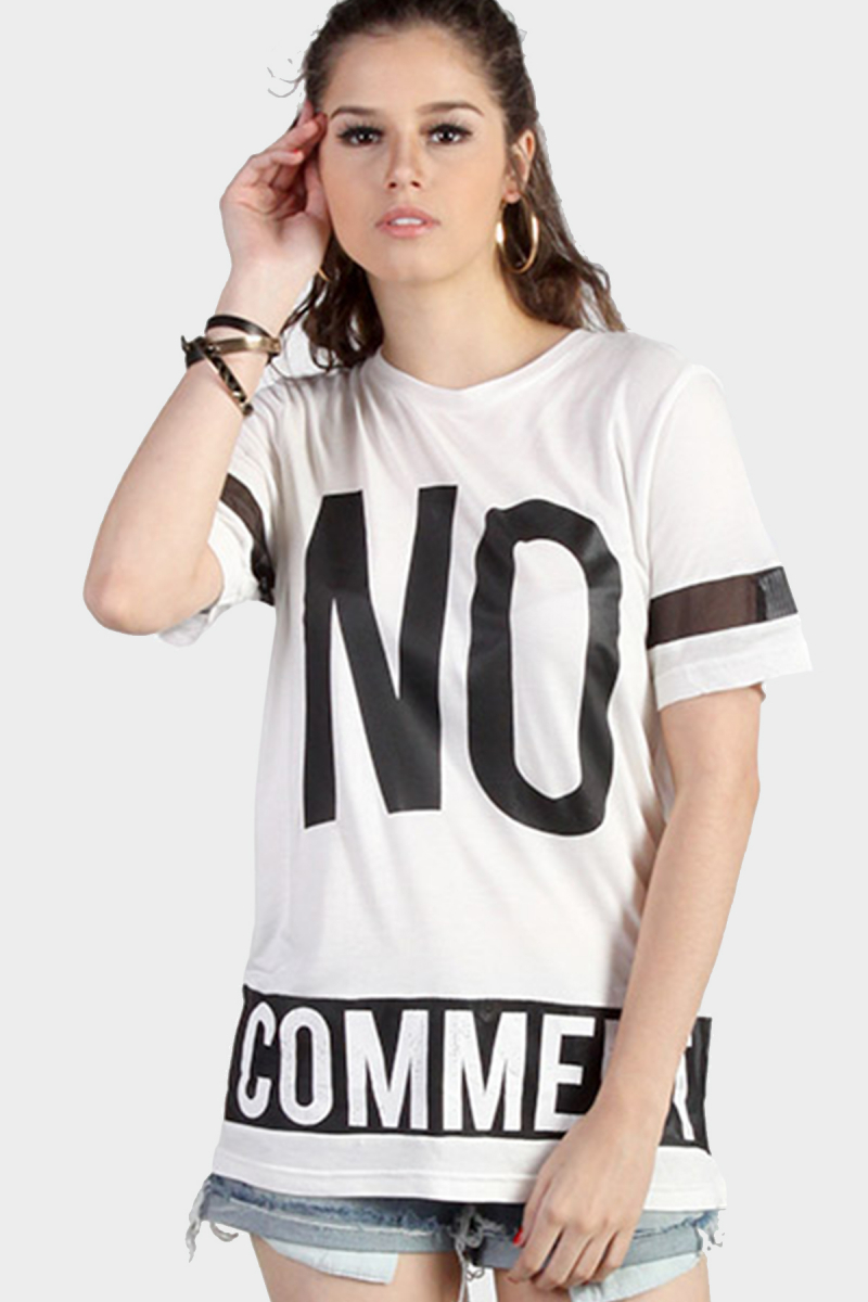 No Comment Tee